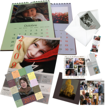faire-part, calendrier, cartes de voeux, invitations